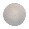 IKIPPAH LIGHT GRAY LEATHER YARMULKE