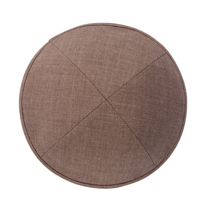 IKIPPAH LIGHT BROWN SUITING YARMULKE