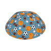 IKIPPAH PLAY BALL BLUE YARMULKE