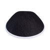 IKIPPAH BLACK DENIM W/ WHITE RIM YARMULKE