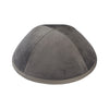 IKIPPAH LIGHT GRAY VELVET YARMULKE