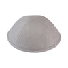 IKIPPAH LIGHT GRAY LINEN YARMULKE