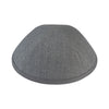 IKIPPAH LIGHT GRAY BURLAP YARMULKE