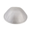 IKIPPAH SILVER LEATHER YARMULKE
