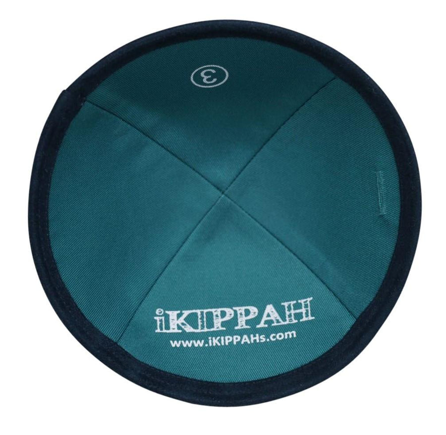 A stylish navy suede high quality iKippah.