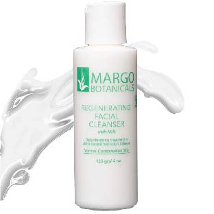 Margo Botanicals Regenerating Facial Cleanser with Milk- 100% Natural
