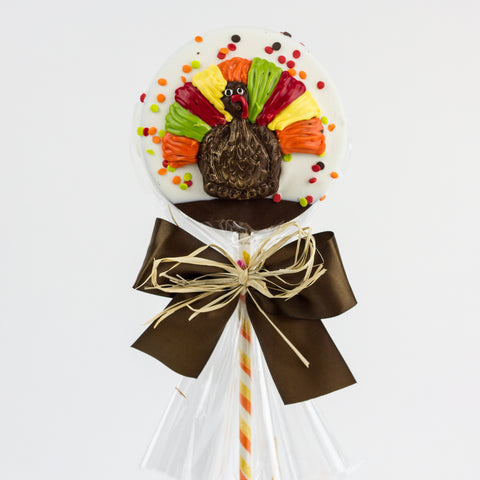 Chocolate Crispy Turkey Lolly