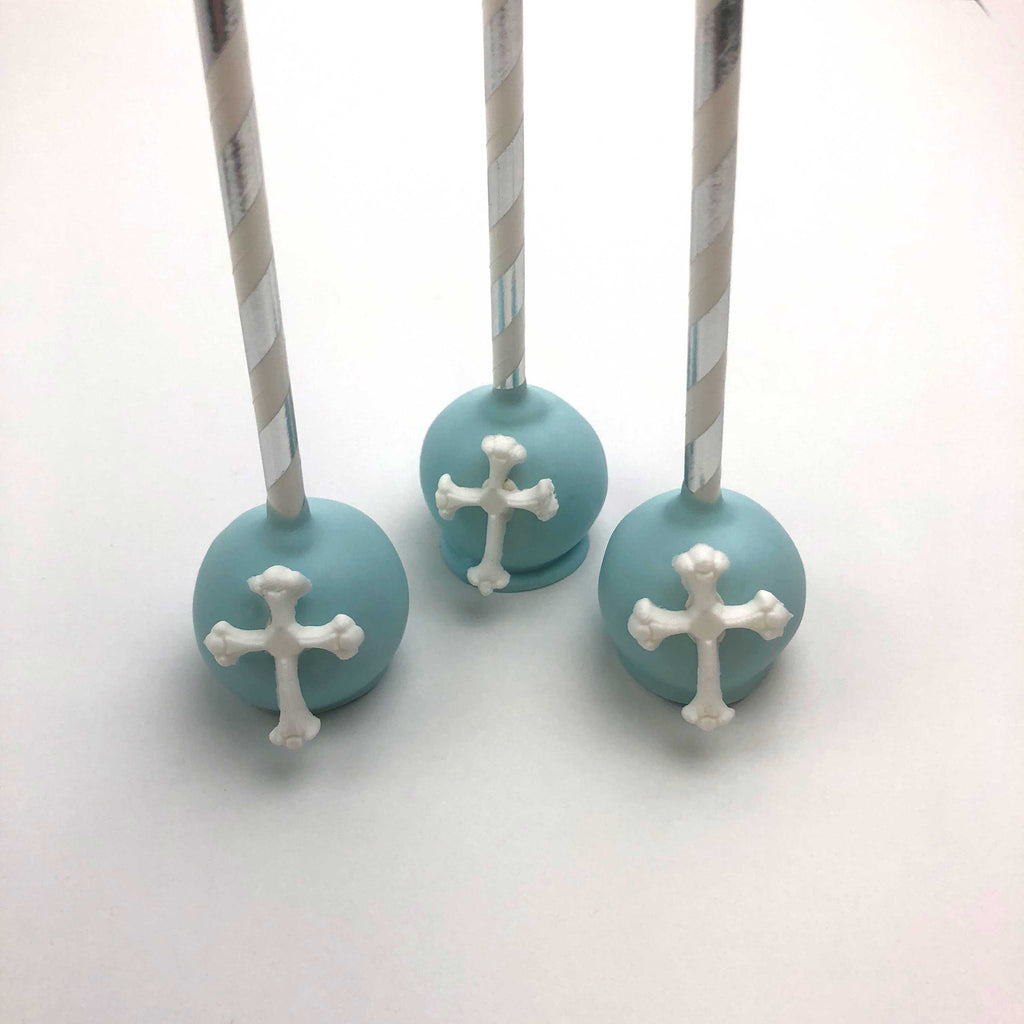 Cake Pops with Cross