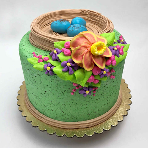 Bird's Nest Easter Cake