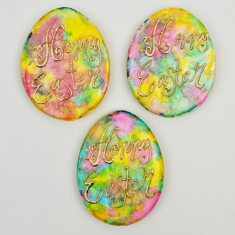 Hoppy Easter Watercolor Cookies
