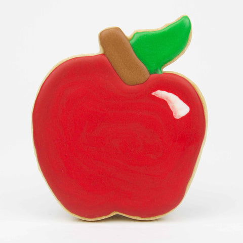 Apple Decorated Cookie