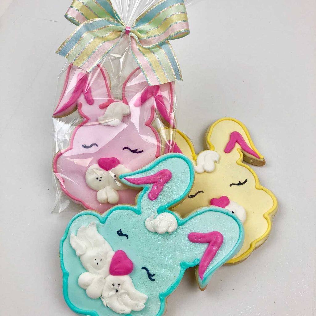 Bunny Face Cookies