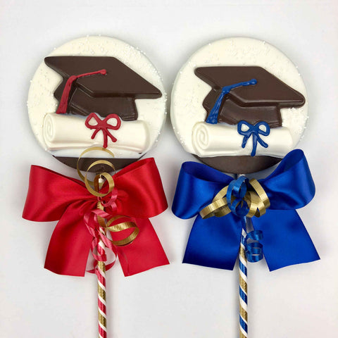 Graduation Chocolate Lolly