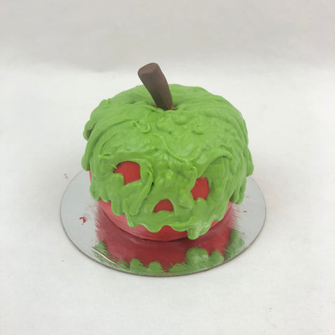 3D Cupcake Poison Apple