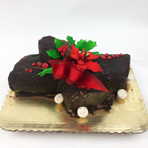 Classic Chocolate Yule Log