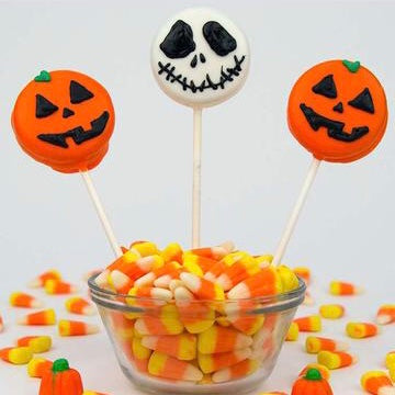 Chocolate Covered Oreo Jack-Skeleton or Jack O'Lantern