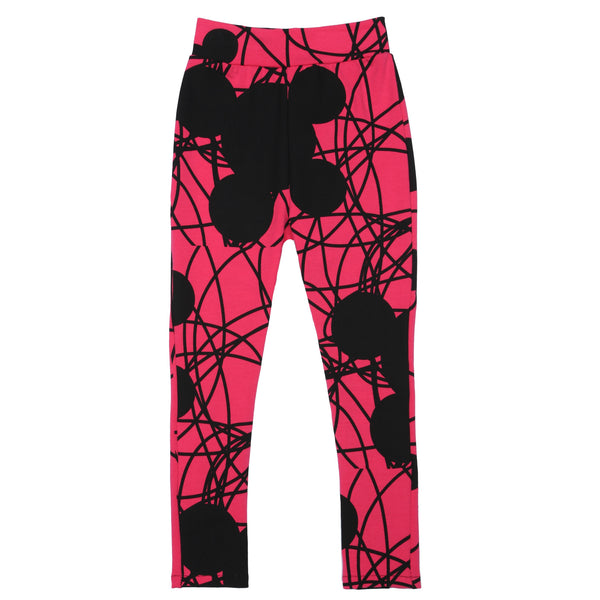 EFVVA Miss Mouse Leggings in Magenta