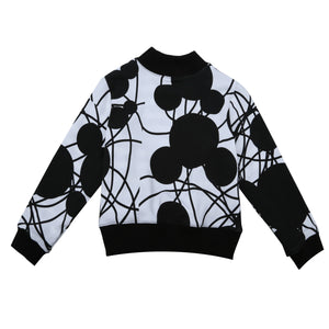 EFVVA Mouse Reversible Bomber Jacket in White