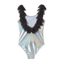 Stella Cove Petal Swimsuit in Silver *PREORDER*