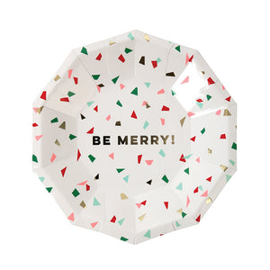 Meri Meri Be Merry Confetti Small Plate