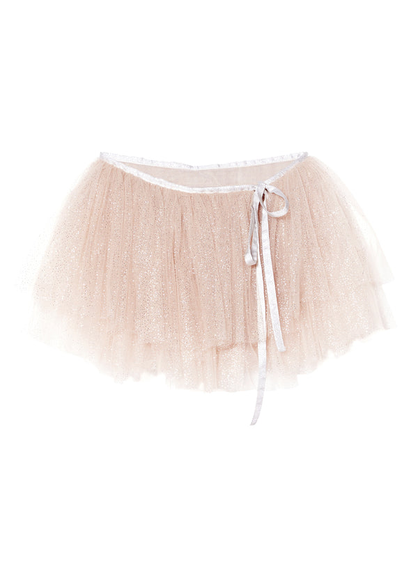 Tutu Du Monde Cosmic Dust Wrap Skirt in Blush