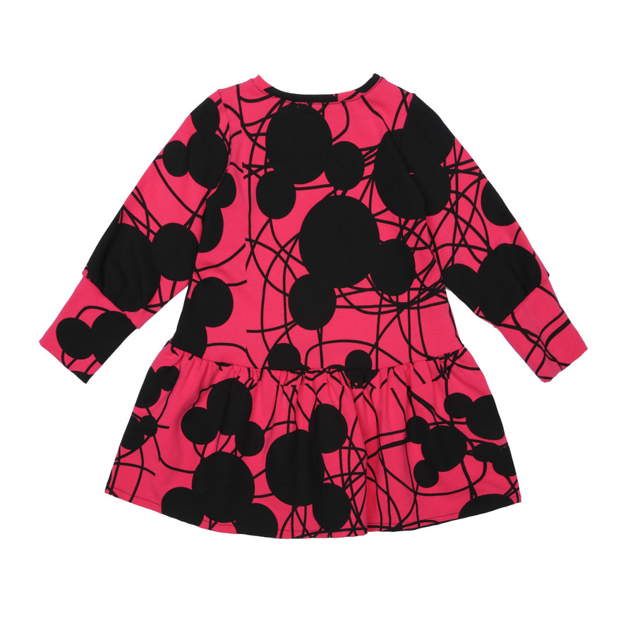 EFVVA Miss Mouse Dress in Magenta
