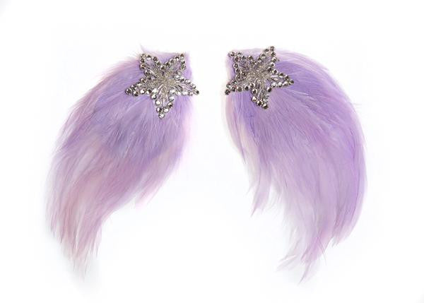 Modern Queen Kids Shooting Star Wings in Lavender