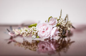 Light Pink Floral Crown *RENTAL*