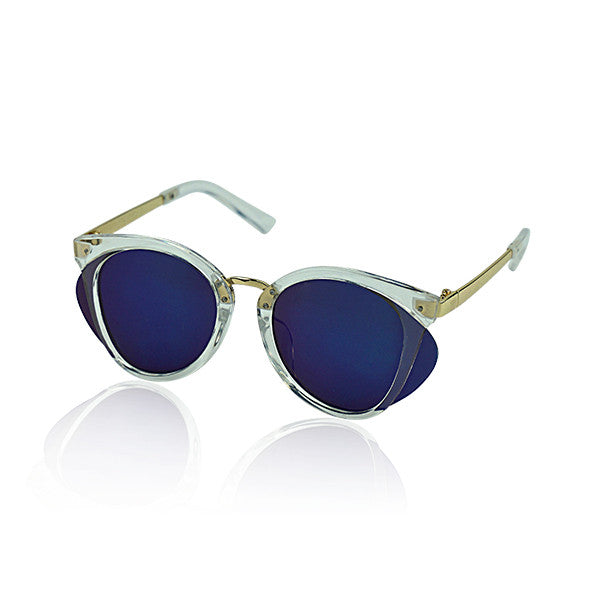 Milk & Soda Rumi Sunglasses in Clear