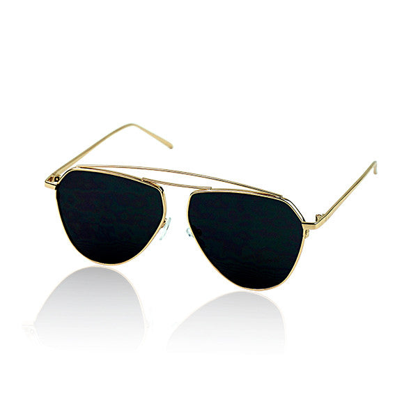 Milk & Soda Spencer Sunglasses in Black