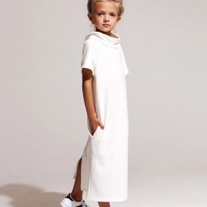 Eve Jnr. Roll Top Midi in White