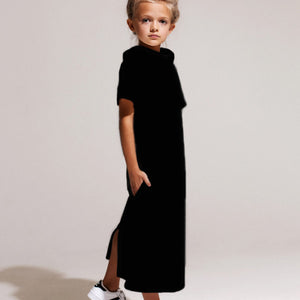 Eve Jnr. Roll Top Midi in Black