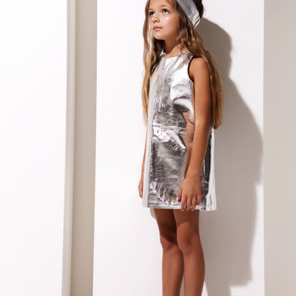 Eve Jnr. Luxe Leather Dress