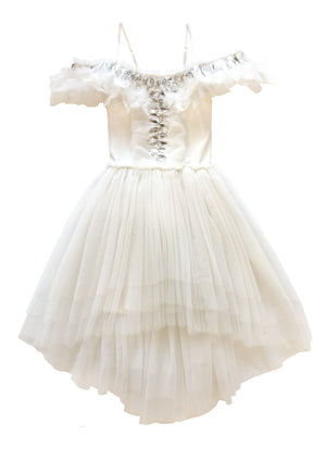 Tutu Du Monde Crow Tutu Dress in White