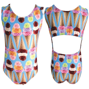 Foxy's Leotards Triple Scoop