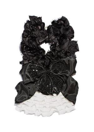 Modern Queen Kids Grande Kingdom Collar in Black