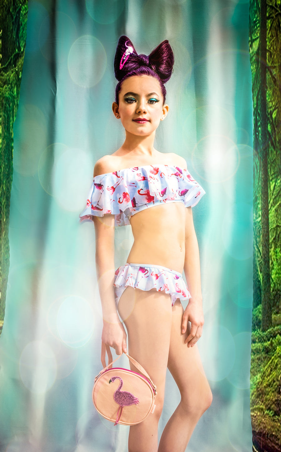 Stella Cove Flared Flamingo Bikini