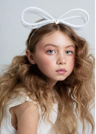 Halo Luxe Tinkerbell Headband in White