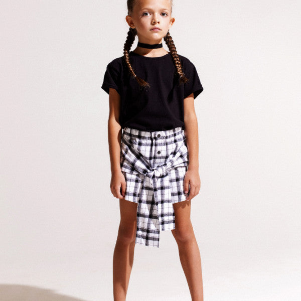 Eve Jnr. Flannel Wrap Skirt