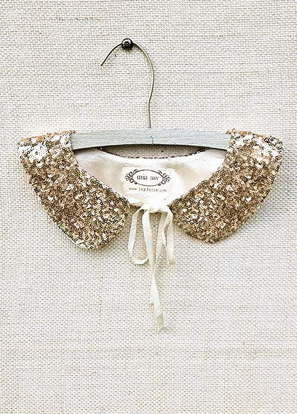 Tabitha Collar in Gold *RENTAL*