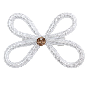 Halo Luxe Tinkerbell Clip in White