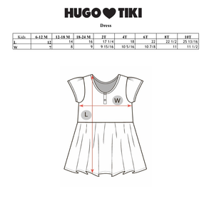 Hugo Loves Tiki Pink Stripe Dress