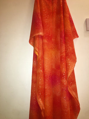 Orange Direa Dress