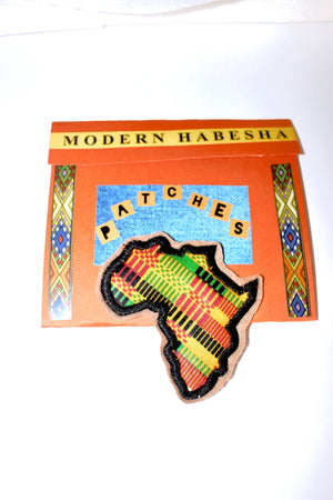 Mama Africa black Fabric Patch