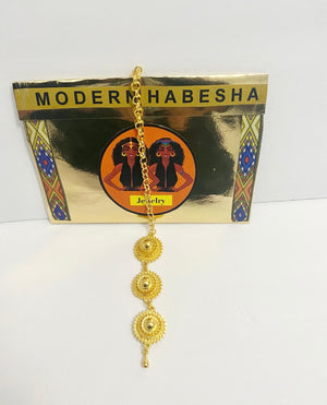 Senait Headpiece Modern Habesha Jewelry