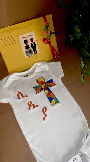 Ethiopian & Eritrean Kids Personalized Onsies