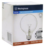 60 Watt G30 Incandescent Vibration Resistant Light Bulb