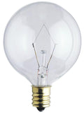 Westinghouse 0374200 40 Watt G16 1/2 Incandescent Light Bulb