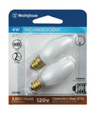 4 Watt C7 Incandescent Light Bulb
