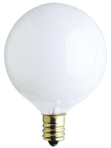 Westinghouse 0381600 40 Watt G16 1/2 Incandescent Light Bulb